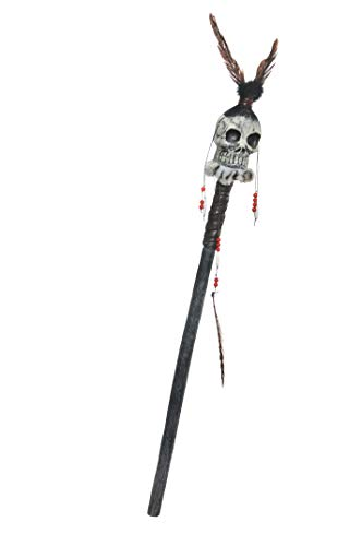 AMSCAN Witch Doctor Staff Halloween Costume Accessories