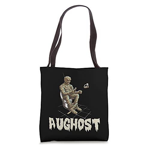 Aughost Halloween Mummy August Tote Bag