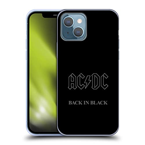 Head Case Designs Officially Licensed AC/DC ACDC Back in Black Album Cover Soft Gel Case Compatible...