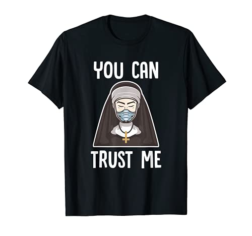 You Can Trust Me | Occult Crucifix Nun Witch Occult Gothic T-Shirt
