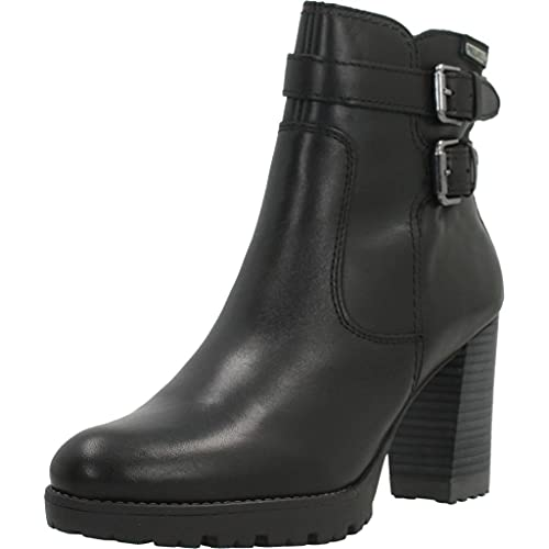 Pikolinos Leather Ankle Boots Connelly W7M Black