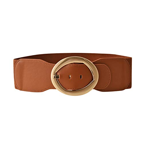 Wide Belts for Women Plus Size Leather Belt Fashion Soft Faux Leather Summer Dresses Waistband