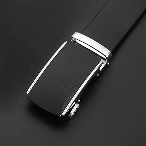 HFDJ Men's Belt Automatic Buckle Youth First Layer Cowhide Belt Business Casual Belt