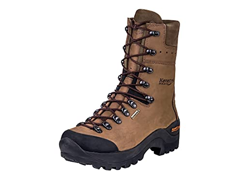 Kenetrek Men's Mountain Guide Non-Insulated Leather Hunting Boot, 11.0 Medium Brown