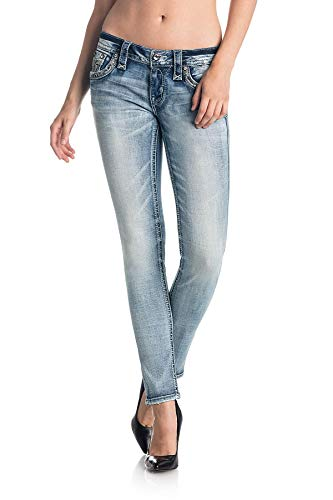 Rock Revival - Womens Kayley S203 Skinny Jeans, Size: 25, Color: S203