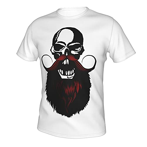 Mad Angry Eye Face Skull Head T Shirt Tshirt for Men Summer Casual Clothes Dresses