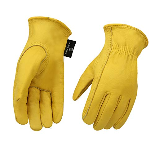 Cowhide Leather Shooting Gloves for industrial production/Riding/Driving/Gardening/Farm Hunting...