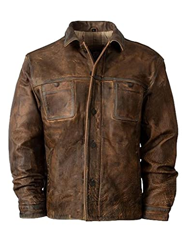 StS Ranchwear Western Jacket Mens Conceal Carry XL Brown STS6565