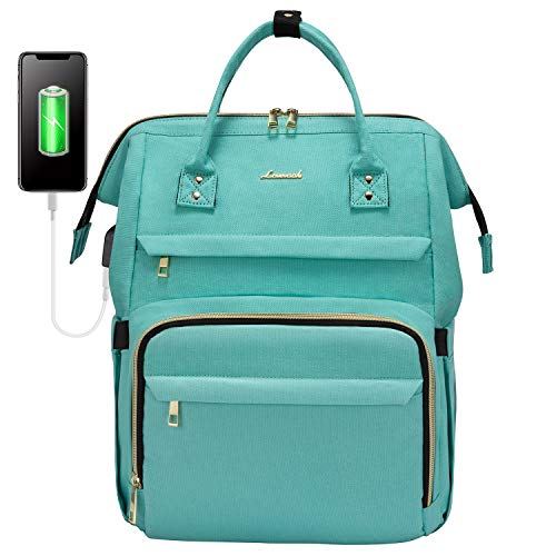 Laptop Backpack for Women Fashion Travel Bags Business Computer Purse Work Bag with USB Port, Light...