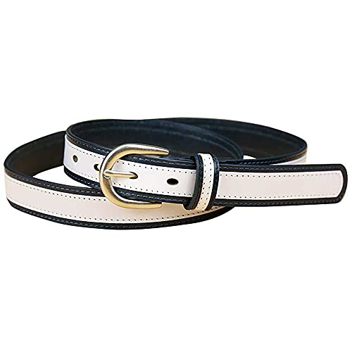 AXB Leather Belt for Women, Casual Leather Belts for Women with Real Solid Leather Casual Belts for...