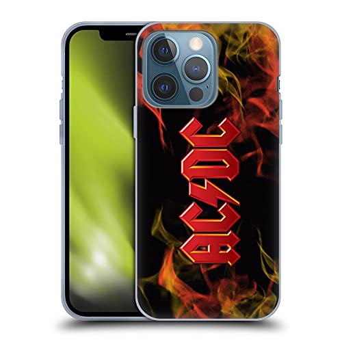 Head Case Designs Officially Licensed AC/DC ACDC Fire Logo Soft Gel Case Compatible with Apple...
