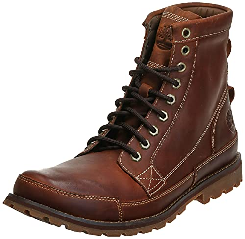 Timberland Men's Earthkeepers 6' Lace-Up Boot, Burnished Brown, 10.5 M US