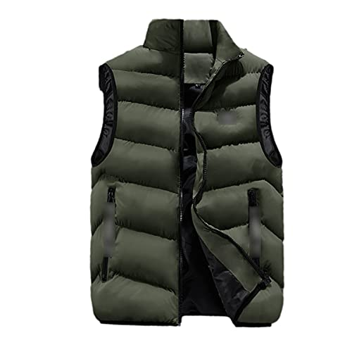 Fashion Mens Jacket Sleeveless Vest Spring Thermal Soft Vests Casual Coats Male Cotton