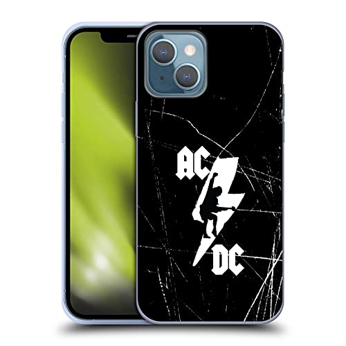 Head Case Designs Officially Licensed AC/DC ACDC Lightning Bolt Iconic Soft Gel Case Compatible with...