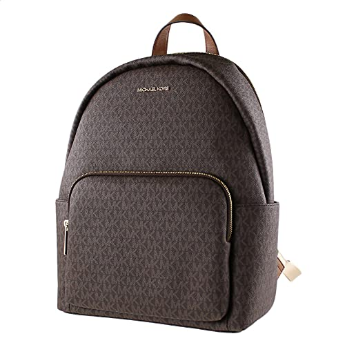 MICHAEL KORS ERIN LARGE BACKPACK PVC LEATHER BROWN