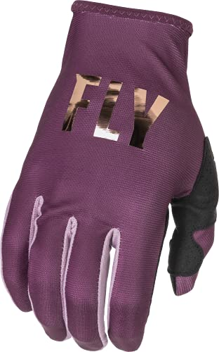 Fly Racing 2022 Women's Lite Gloves (Mauve, Large)