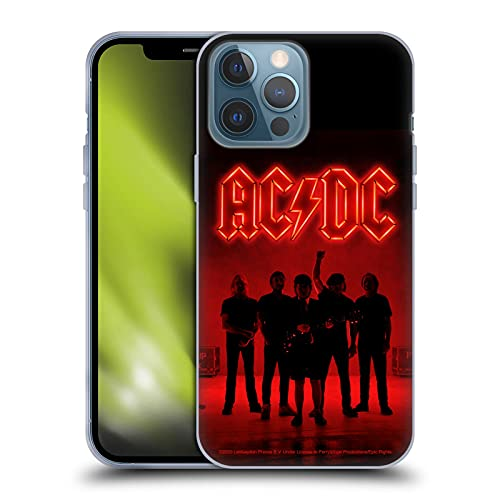 Head Case Designs Officially Licensed AC/DC ACDC Silhouette Power Up Soft Gel Case Compatible with...