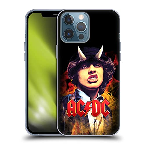 Head Case Designs Officially Licensed AC/DC ACDC Angus Young Solo Soft Gel Case Compatible with...