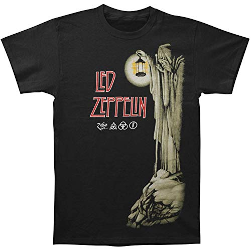 Led Zeppelin - Hermit - Adult T-Shirt - Small Black