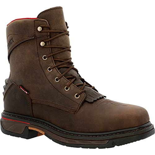 Rocky Iron Skull Composite Waterproof Lacer Western Boot Size 12(W)