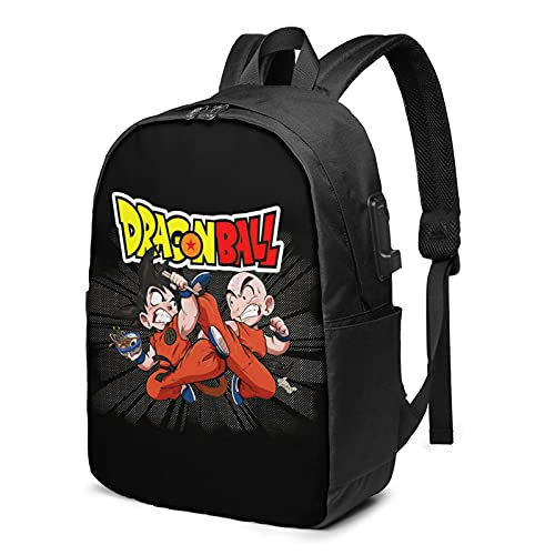 vegeta backpacks, Multifunctional Laptop Backpack with USB Charging Port for Youth Students draagoon...