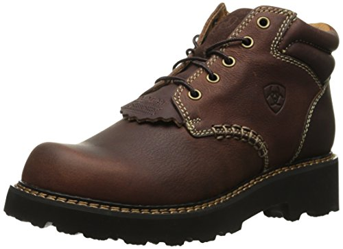 Ariat Women's Canyon Leather Ankle Boot, Dark Copper, 7