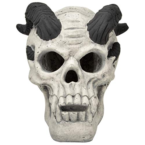 Stanbroil Fireproof Fire Pit Fireplace Demon Skull Gas Log for Ventless & Vent Free, Propane, Gel,...