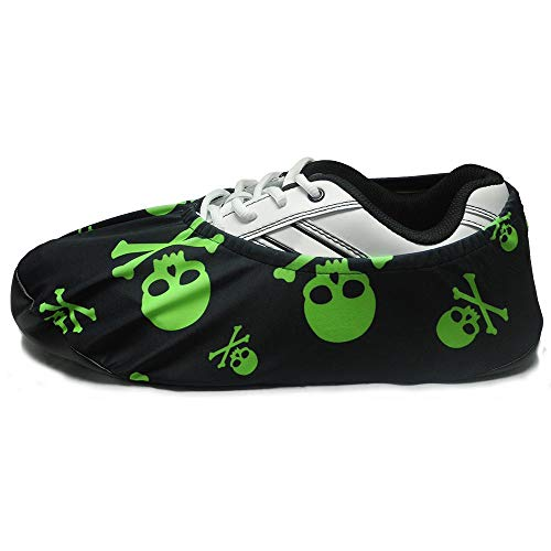 bowlingball.com Premium Bowling Shoe Protector Covers (X-Large: Fits Mens Size 10-15, Lime Green...