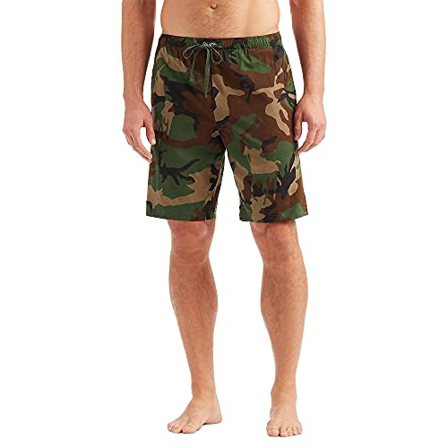 Polo Ralph Lauren All Over Pony Player Jersey Sleep Shorts Olive Player Camo SM