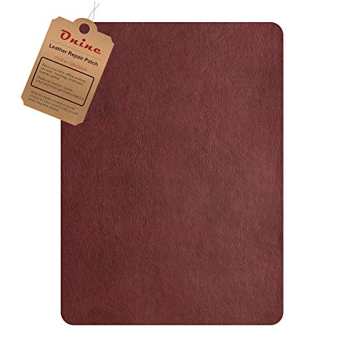 Leather Repair Patch,Self-Adhesive Couch Patch,Multicolor Available Anti Scratch Leather 8X11...