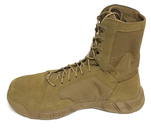 Oakley Light Assault 2 8' Tactical Boots Leather and Synthetic Coyote Men's.