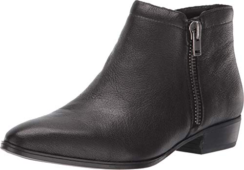 Naturalizer Women's Claire Ankle Boot, Black Leather, 7.5 Wide