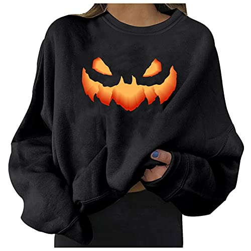 GUOBIOZIY Winter Clothes for Women,Womens Crewneck Sweatshirts Tops for Women Loose Tee Vintage...