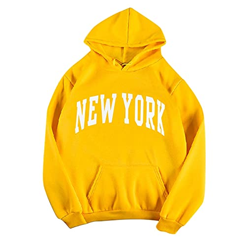 ZDFER Hoodies for Women Casual Fashion Print Hooded Sweatshirts Long Sleeve Fall Tops Cozy Pullover...