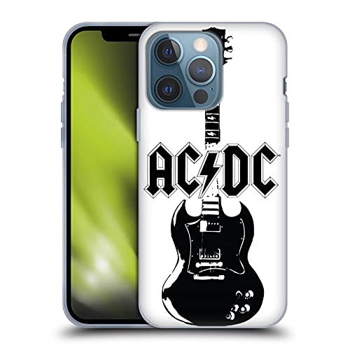 Head Case Designs Officially Licensed AC/DC ACDC Lead Guitar Iconic Soft Gel Case Compatible with...