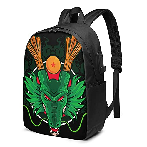 kakarot backpacks, Durable Laptop Backpack with USB Charger Port for womens draagoon ball Business...