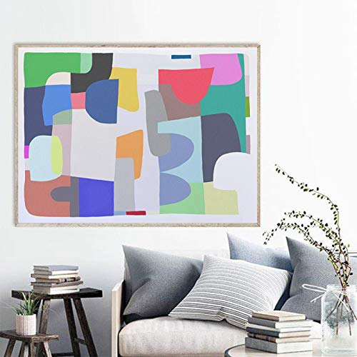 Minimalist Modern Abstract Color Wall Art Canvas Painting Nordic Posters and Prints Wall Pictures...
