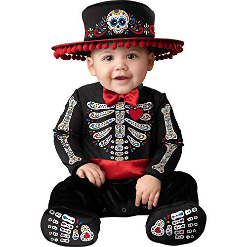Fun World Easter Unlimited Sugar Skull Cutie Halloween Costume for Babies, 12-18M, Includes Jumpsuit...