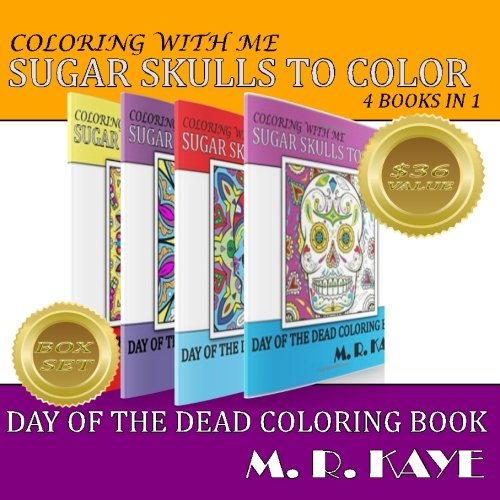 Sugar Skulls and More To Color - Boxed Set: Day of The Dead Coloring Book (Day of the Dead Coloring...