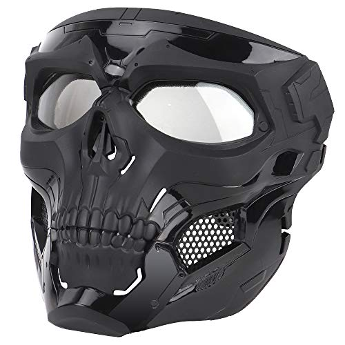 Anyoupin Airsoft Mask,Full Face Masks Skull Skeleton with Goggles Impact Resistant Army Fans...