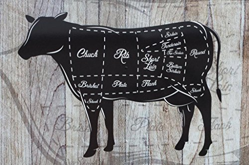 Cuts of Beef Butcher Shop Diagram Cow Diagram Sign Cow Pictures Wall Decor Fun Cow Pictures Cow...