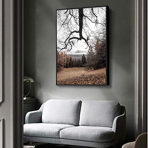 Modern Natural Landscape Posters and Prints Wall Art Canvas Painting Creative Design Picture for...