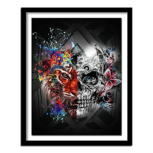 Diamond Painting Kits for Adults Crystal Diamond Art for Home Decoration Products Abstract Skull...