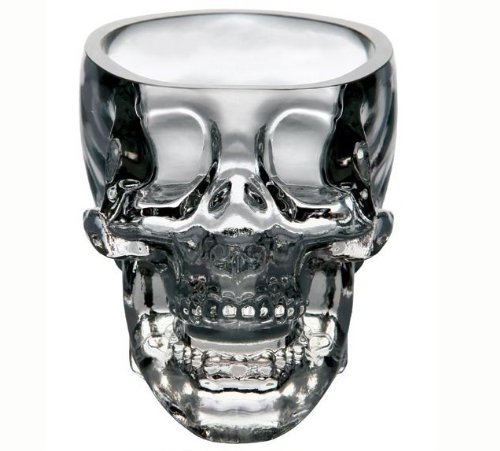 Tvoip 2PCS Kitchen & Dining Entertaining Glassware Drinkware Old Fashioned Glasses Skull Cup for...