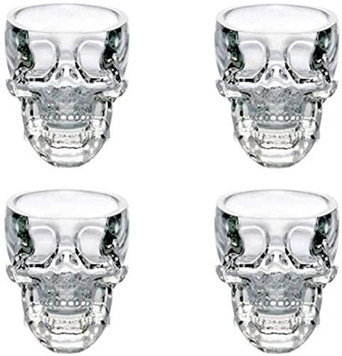 Whiskey Decanter Set Whiskey Decanter Sets For Men Engraved Crystal Skull Head Shot Glass Cup For...