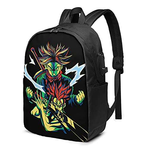 vegeta backpacks, Durable Laptop Backpack with USB Charging Port for men draagoon ball z Business...