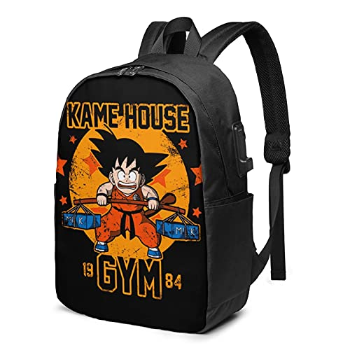 kakarot backpacks, Multi-Function Laptop Backpack with USB Charging Port for Adult draagoon ball...
