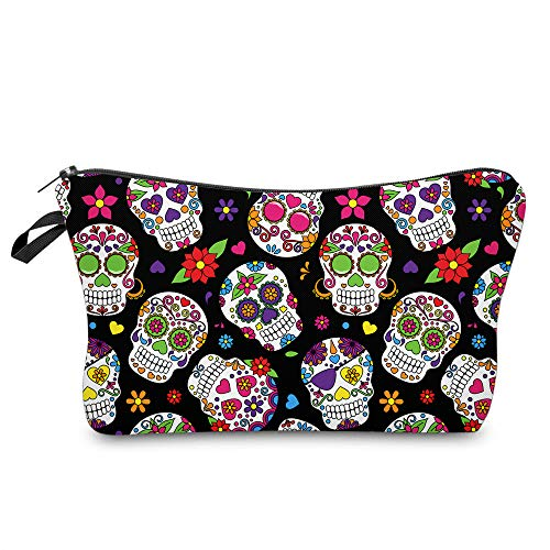 Cosmetic Bag MRSP Makeup bags for women,Small makeup pouch Travel bags for toiletries waterproof...