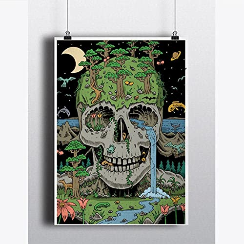 Skull Of Life Poster, Nature Poster